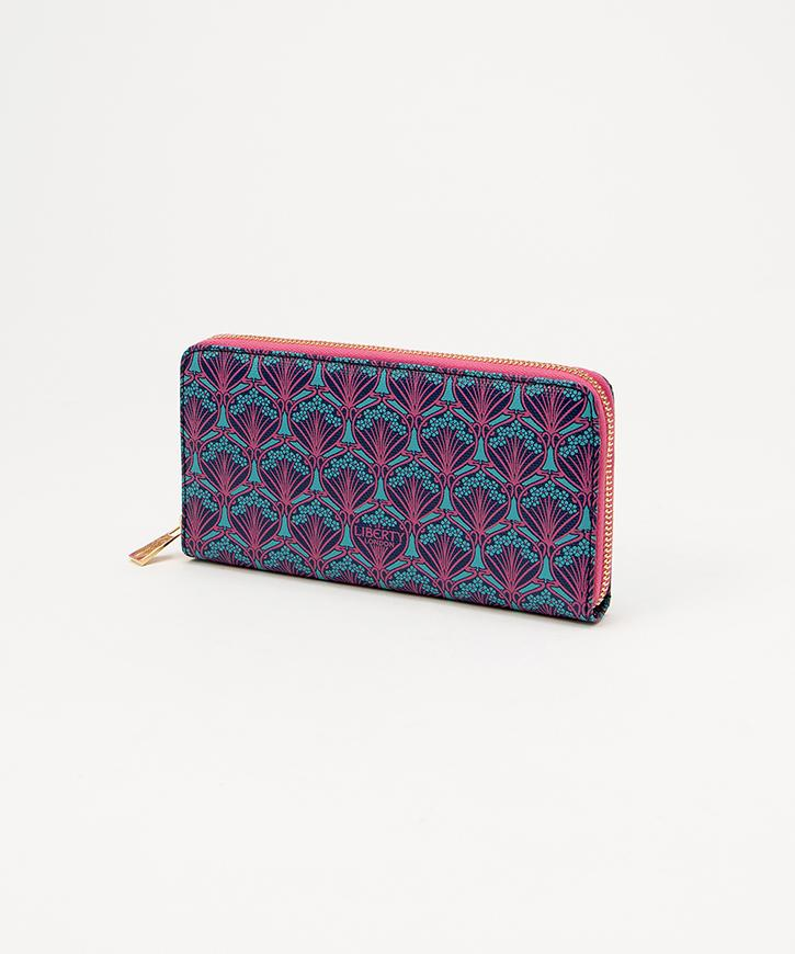 【LIBERTY LONDON】 ZIP-AROUND WALLET【送料無料】