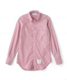 【THOM BROWNE】 リボンボタンダウンシャツ(601レッド) 【送料無料】