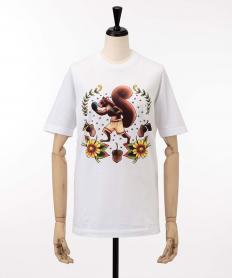 【Dsquared2】 リスプリントTシャツ【送料無料】