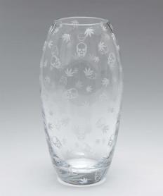 【lucien pellat-finet】 クリスタル 花瓶【送料無料】