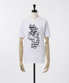 【Dsquared2】 あらいぐまプリントTシャツ【送料無料】