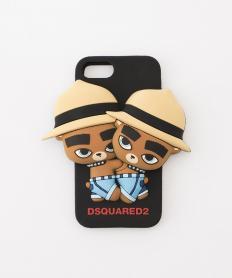 【Dsquared2】 くま双子 スマートフォンケース(iPhone7対応)【送料無料】