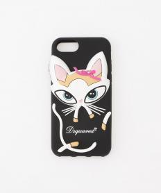 【Dsquared2】 猫 スマートフォンケース(iPhone7対応)【送料無料】