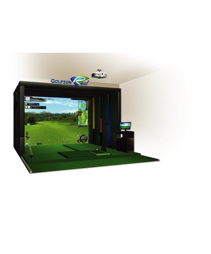 【ゴルフゾン】 GDR(ゴルフシミュレーショターマシン)