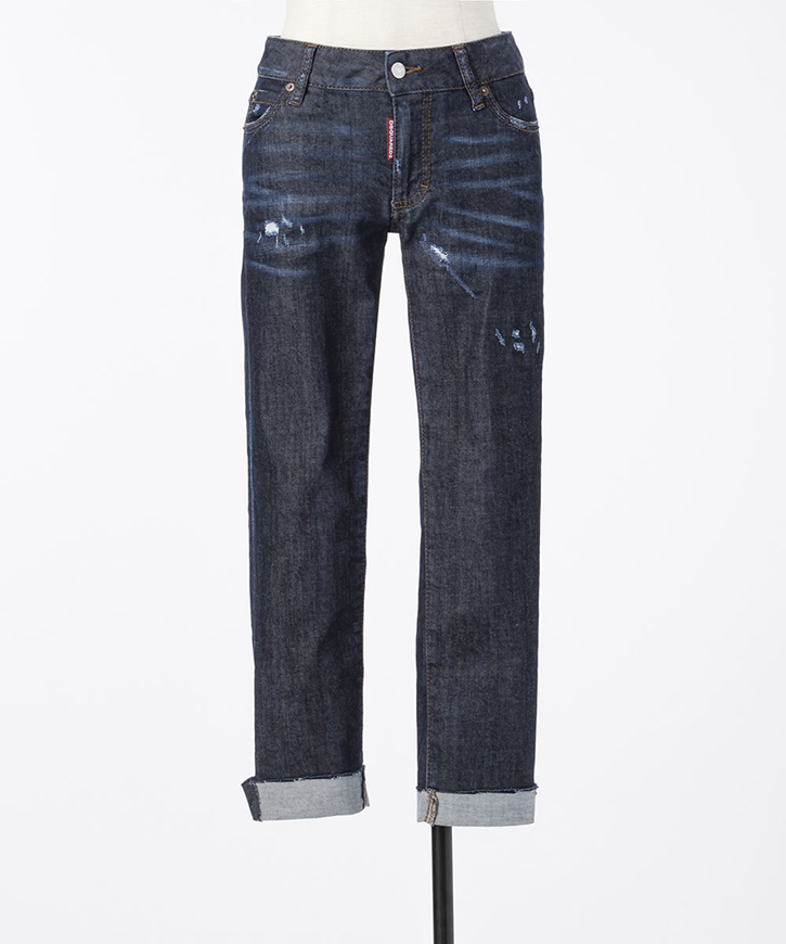 【Dsquared2】カットオフMedium waist skinny cropped【送料無料】