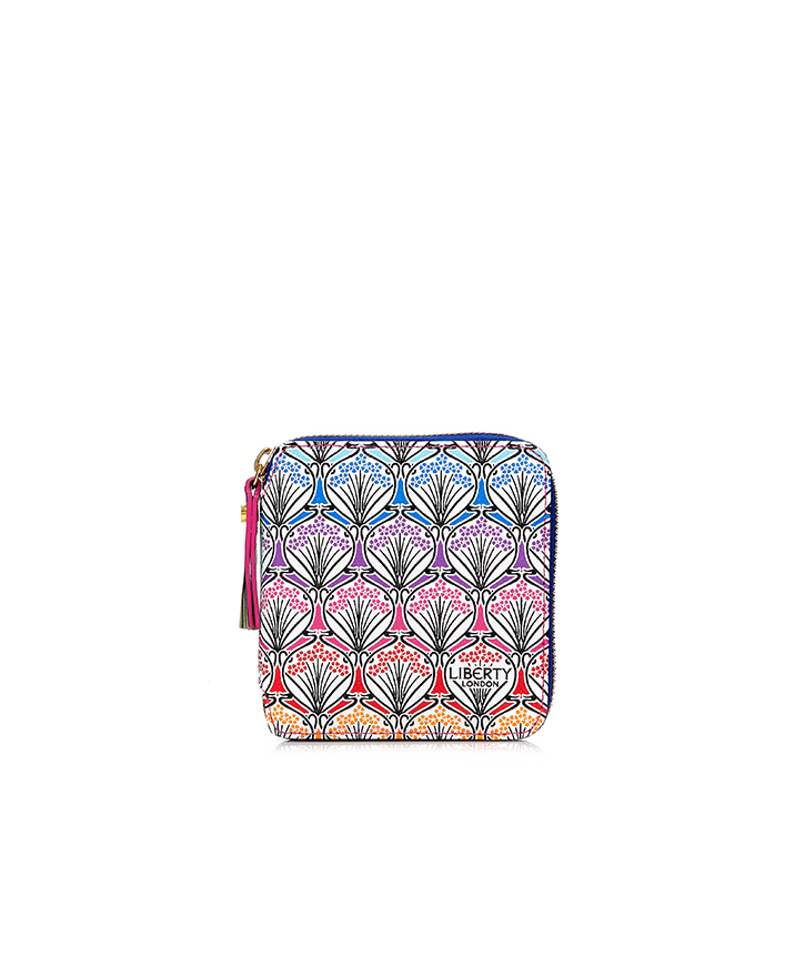 【LIBERTY LONDON】 RAINBOW SMALL ZIP WALLET【送料無料】